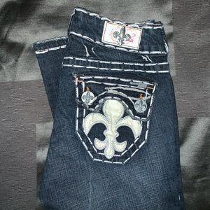 Labuan Beach Jean Co. thick stitch jeans